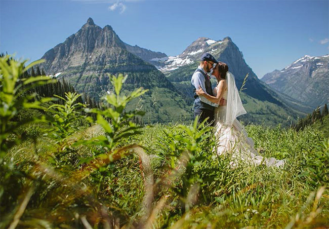 Glacier National Park Wedding Album