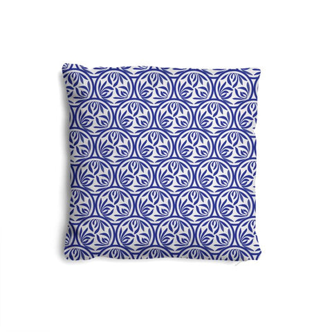 Premium Orchid Motif Pillow Set