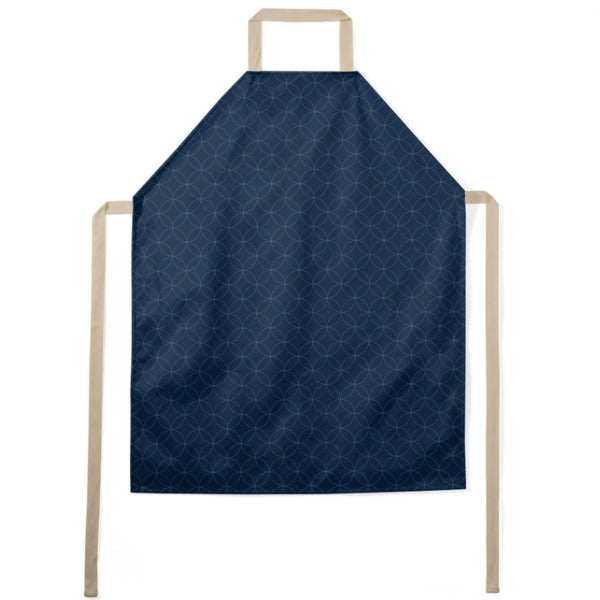 Indigo Stitches Pattern Apron