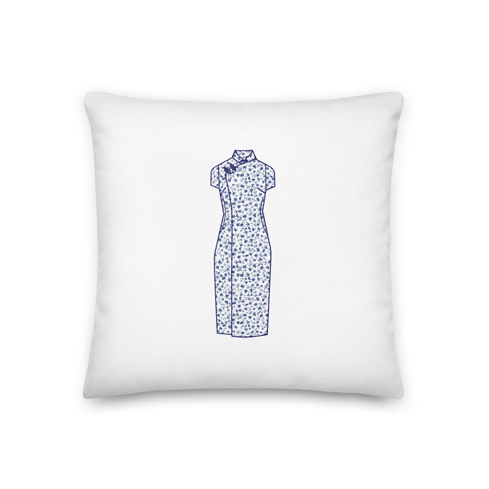 Qipao and Chang Shan Premium Pillow