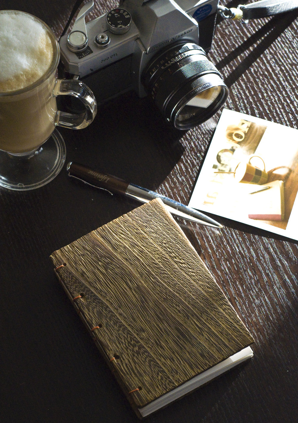 Paulownia Wooden handcrafted Sketch/Journal Book