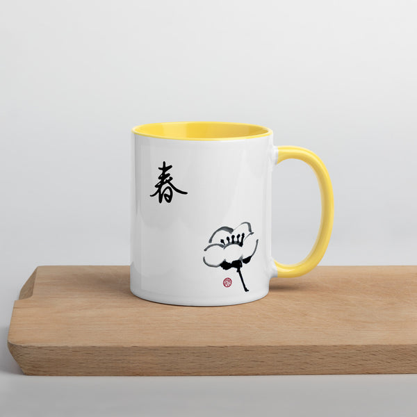 Mug with Cherry Blossom