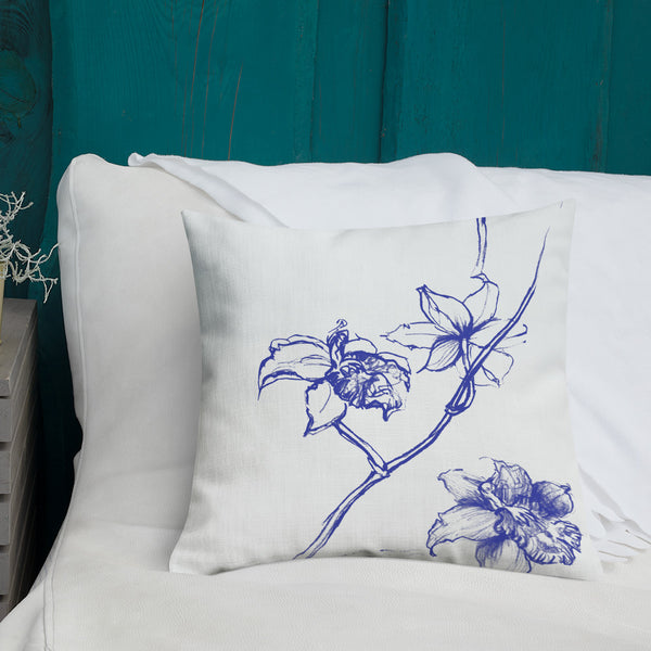 Premium Chinoiserie Pillow