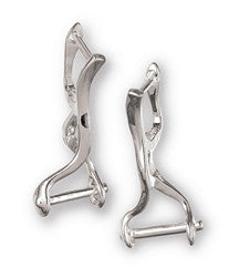 Chamilia Silver Modern Clasp Earrings