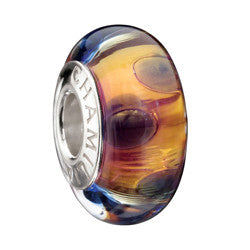 Chamilia Silver 24k Gold Collection Majestic Gold Murano