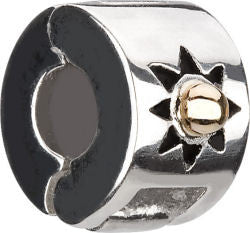 Chamilia Silver/14k Gold Ball Freedom Lock