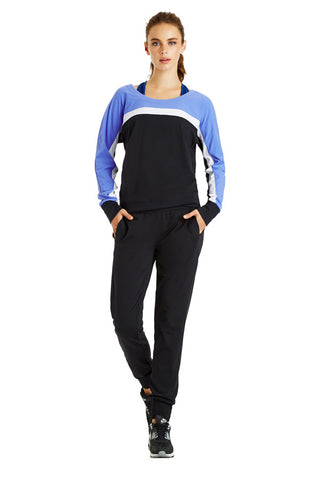 Claudia L/SLV Excel Sweat