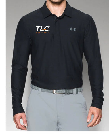 TLC Companies UA Men's LS POLO