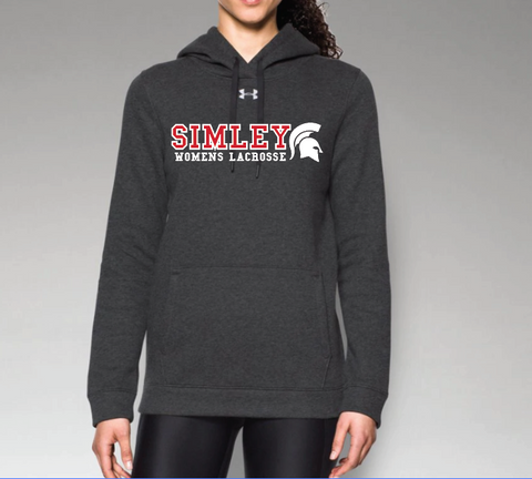 SIMLEY WOMENS LACROSSE HUSTLE FLEECE HOODY
