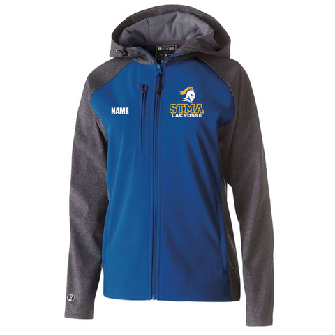 STMA Lacrosse Women's Holloway (RAIDER SOFTSHELL JACKET) Royal