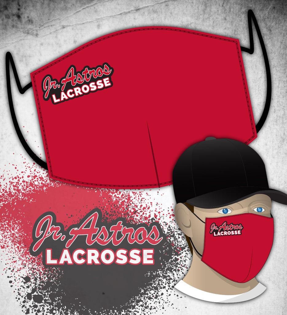 Jr. Astros Lacrosse FUNDRAISER Face Mask