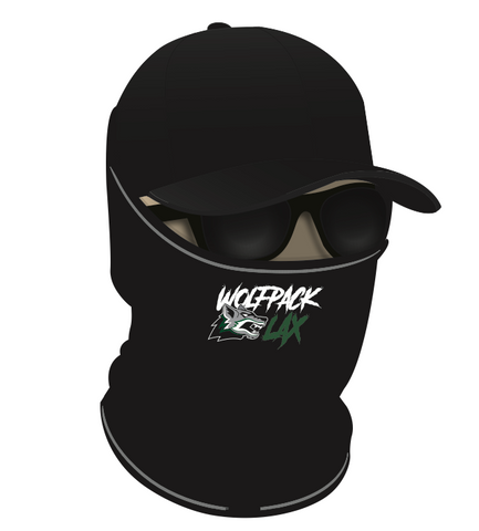 Cottage Grove Lacrosse FUNDRAISER Face Gaiter - Black