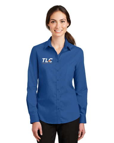 TLC Companies Port Authority® Ladies SuperPro™ Twill Shirt
