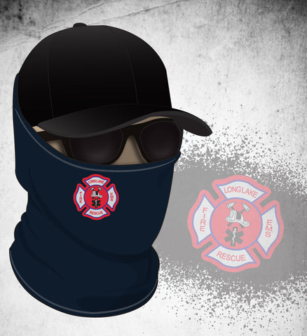 Long Lake FD Face Gaiter - Navy