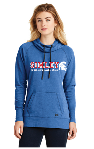 SIMLEY WOMENS LACROSSE NEW EARA HOODY-ROYAL