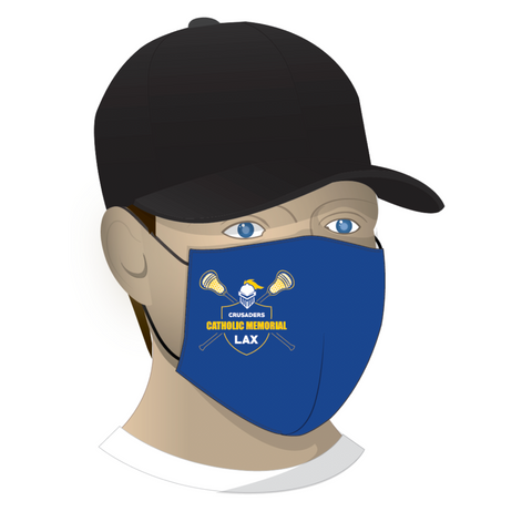 CMH Lacrosse Face Mask - Royal
