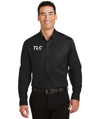 TLC Companies Port Authority® SuperPro™ Twill Men's Shirt