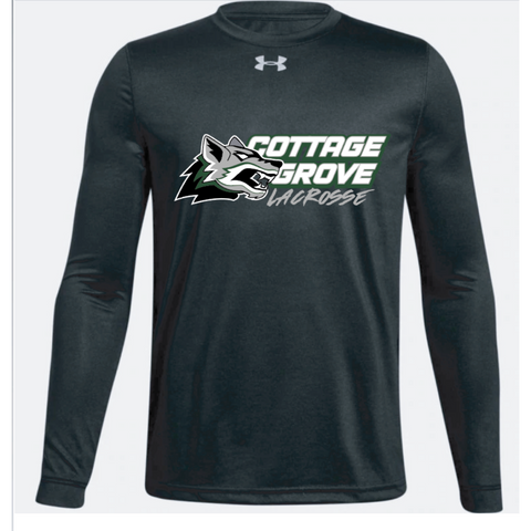 Cottage Grove Lacrosse Youth Under Armour (Locker T LS) Black