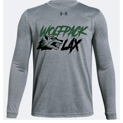 Cottage Grove Lacrosse Youth Under Armour (Locker T LS) Gray