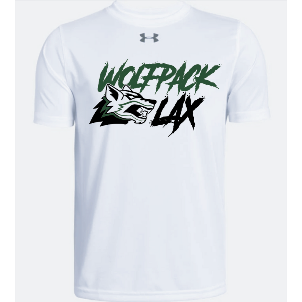 Cottage Grove Lacrosse Youth Under Armour (Locker Tee SS 2.0) White