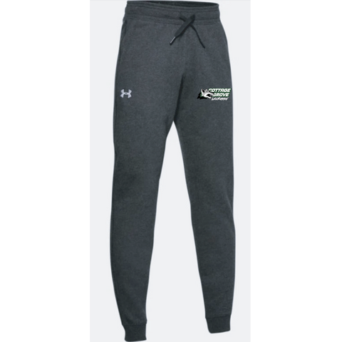 Cottage Grove Lacrosse Youth Under Armour (Hustle Fleece Jogger) Black