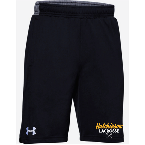 Hutchinson Lacrosse Youth Under Armour (Locker Pocketed Short) Black