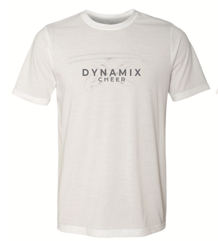 Texas Dynamix Unisex Next Level (Poly/Cotton Crew) White