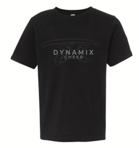 Texas Dynamix Unisex Next Level (Cotton Short Sleeve Crew) Black