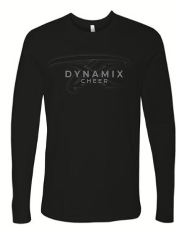 Texas Dynamix Unisex Next Level (Cotton Long Sleeve Crew) Black