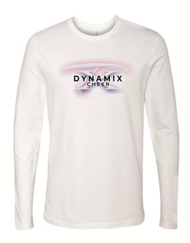 Texas Dynamix Unisex Next Level (Cotton Long Sleeve Crew) White