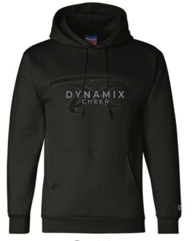 Texas Dynamix Unisex Champion (Double Dry Eco® Hoodie) Black