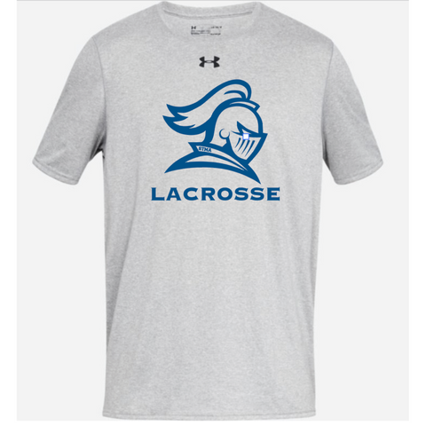 STMA Lacrosse Adult Under Armour (Locker Tee) True Gray Heather