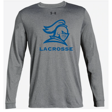 STMA Lacrosse Adult Under Armour (Locker Tee 2.0 LS) True Gray Heather