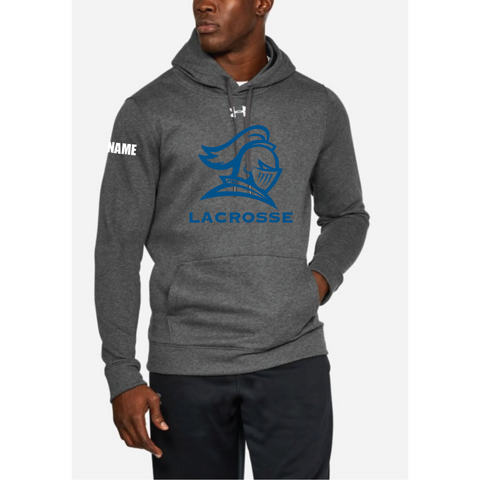 STMA Lacrosse Men's Under Armour (Hustle Fleece Hoody) Carbon Heather