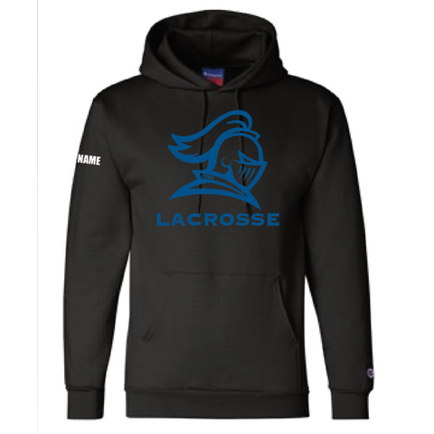 STMA Lacrosse Men's Champion (Double Dry Eco Hoodie) Black