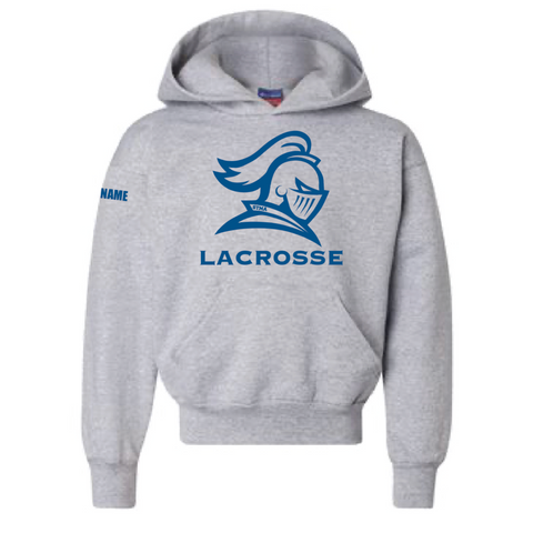 STMA Lacrosse Youth Champion (Double Dry Eco Hoodie) Gray