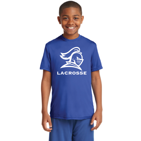 STMA Lacrosse Youth Sport-Tek (PosiCharge Competitor) Royal