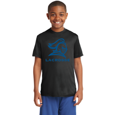 STMA Lacrosse Youth Sport-Tek (PosiCharge Competitor) Black