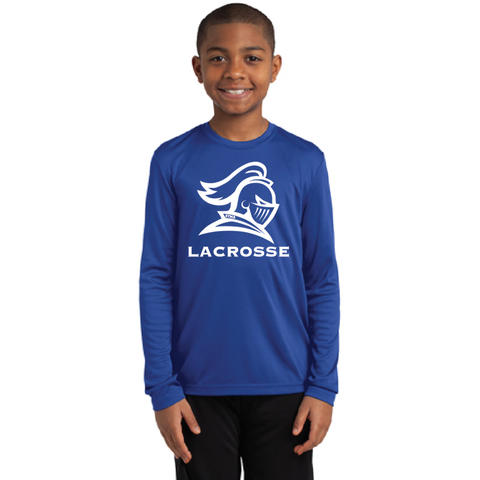 STMA Lacrosse Youth Sport-Tek (Long Sleeve PosiCharge Competitor Tee) Royal