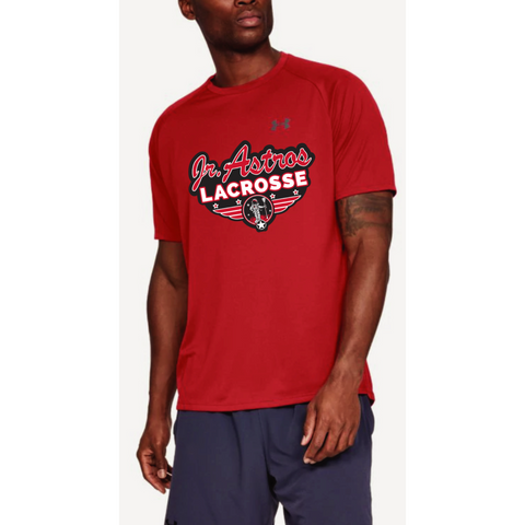 Jr. Astros Lacrosse Men's Under Armour (Tech Tee) Red