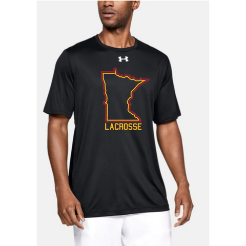 U of M Lacrosse Men's UA (Locker Tee 2.0) Black