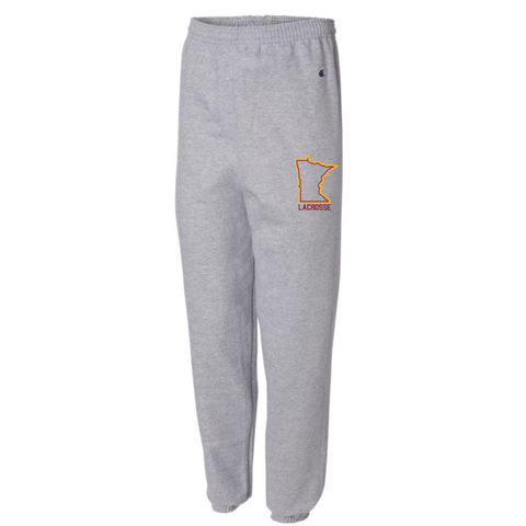 ** Recommended** U of M Lacrosse Champion (Reverse Weave Jogger) Gray