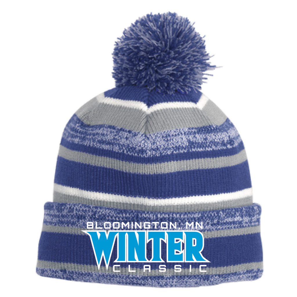 Bloomington Winter Classic New Era (Sideline Beanie) Royal