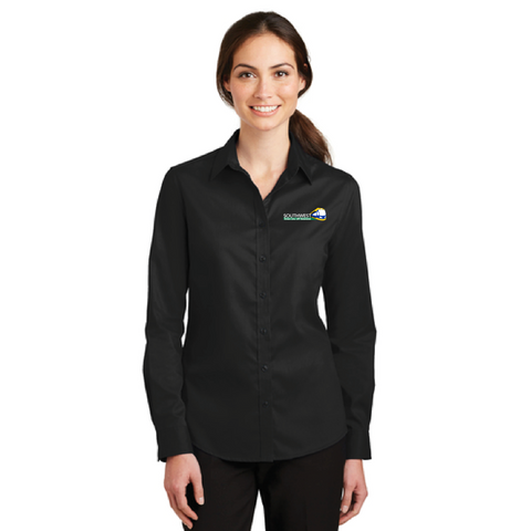 SWLRT Women's Port Authority (SuperPro Twill Shirt)