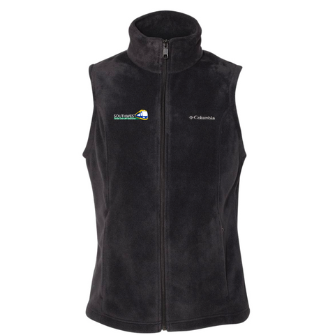 SWLRT Women's Columbia (Benton Springs Fleece Vest) Black