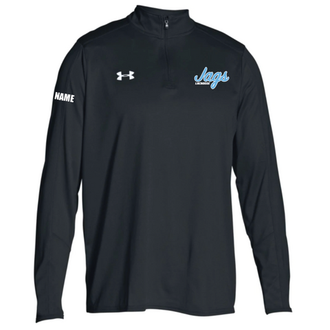 Jefferson Lacrosse Men's UA (Locker 1/4 Zip) Black