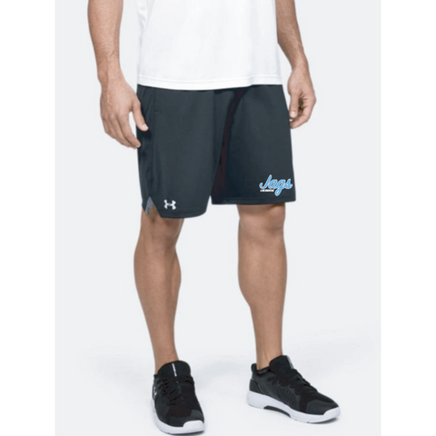Jefferson Lacrosse Men's UA (Locker 9in Pocket Short) Black