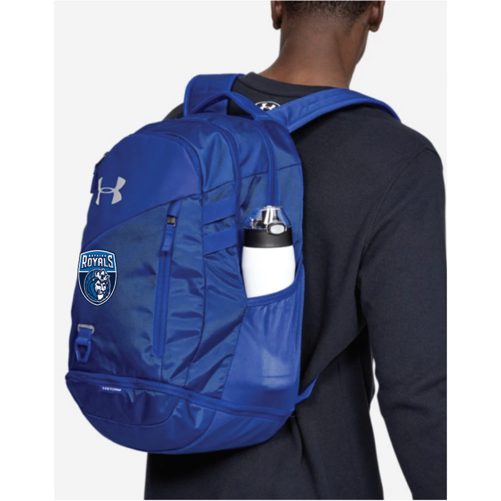 Hopkins Basketball UA (Hustle 4.0 Backpack) Royal