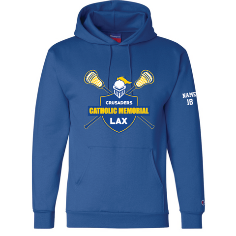 CMH Lacrosse Champion (Double Dry Eco® Hooded Sweatshirt) Royal