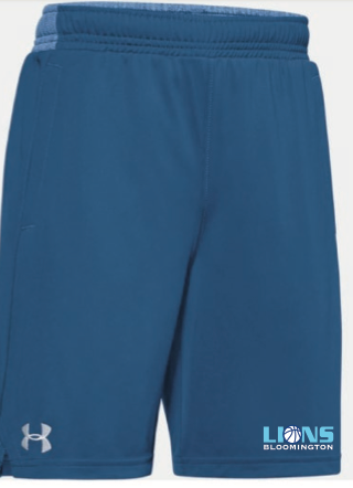 Bloomington Basketball Youth UA (Locker Pocketed Shorts) Royal